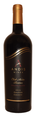 2012 Amador Blend, Club Andis