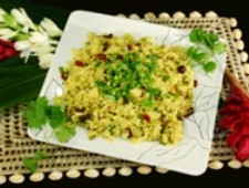 Curry Fried Rice with Cranberries